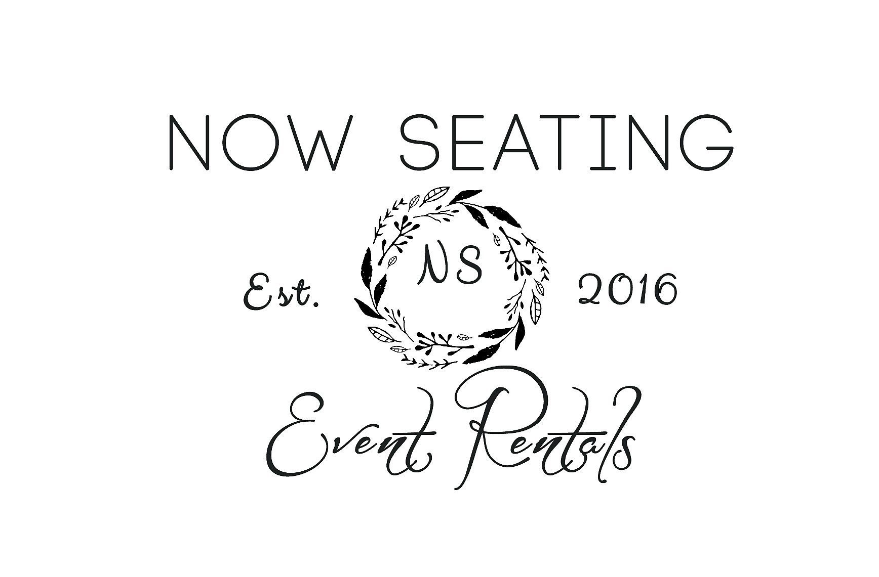 Now Seating Event Rentals